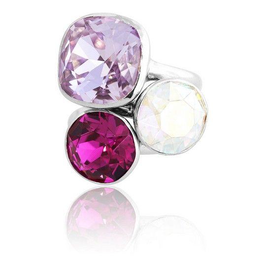 Provence Summer 2018 Stacker Ring Set #bling #MarisaKateDesigns #Swarovski #crystal #jewel #sterlingsilver