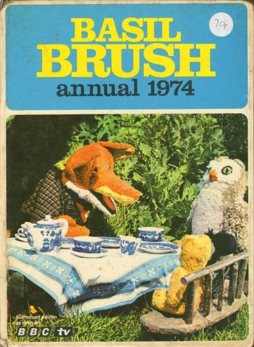 Basil brush annual 1974 by Museum of Hartlepool