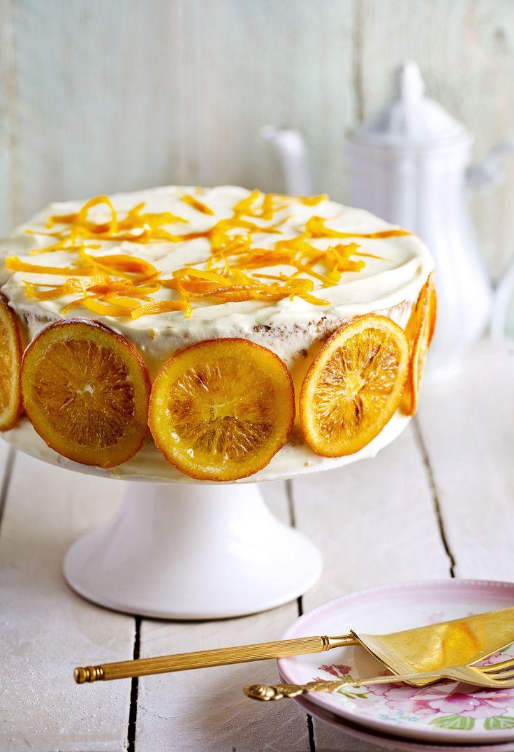 Sinaasappel mascarponetaart