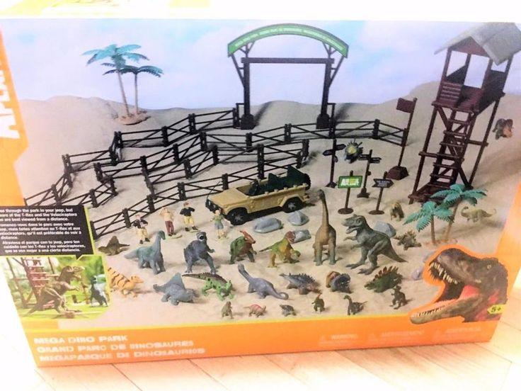 Animal Planet Toys R Us 2013 Exclusive Mega Dino Park TRU Huge 85 pc LE Playset #AnimalPlanetTRU