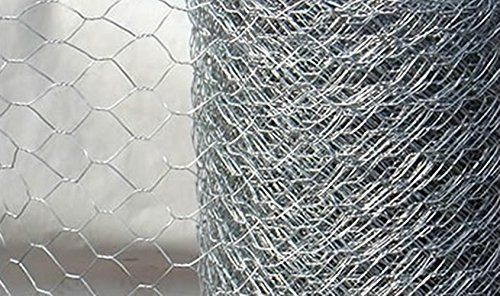 buy now   £34.99   10m roll of 1.2m (4ft) tall 25mm extra strong rabbit wire meshGalvanised wire for a long life – much stronger than chicken wireideal for protecting  ...Read More
