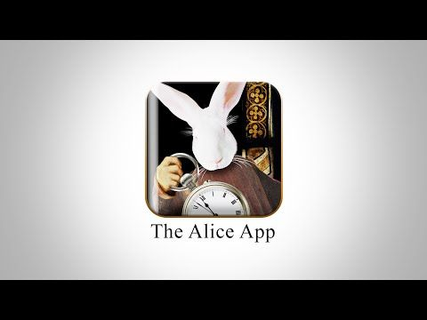 "The Alice App ""Alice in Wonderland"" for the ipad/Iphone and android - YouTube"