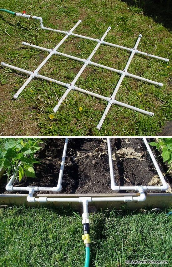 Buying items for your gardening needs can get a bit expensive sometimes, and if you're tight on budget, or simply you don't want to spend much money, you can easily find yourself out of options. If you're willing to spend sometime making some of these items yourself, PVC pipes could come in handy, and the best of all, PVC pipes are so cheap to buy. Take a look at these low-cost projects you could easily make with PVC pipes.