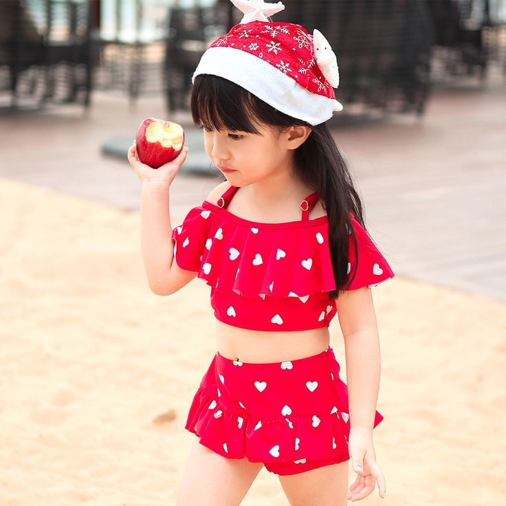 NIUMO New  princess two-piece bathing suit Children's suit The bikini Girls' Bathing suit baby Swimwear