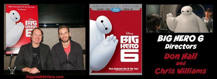BIG HERO 6 Directors Don Hall and Chris Williams #BigHero6Bloggers