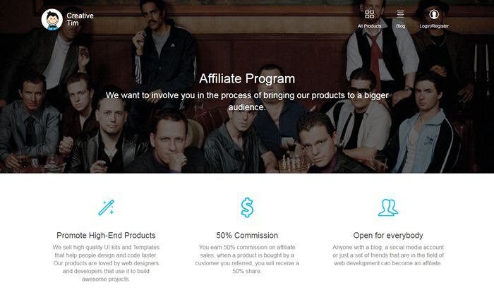 13 Affiliate Programs for Bootstrap users