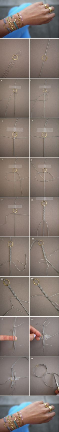 DIY bracelets. I want to make these