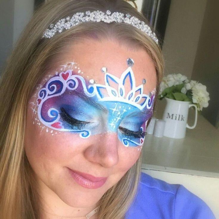Lisa Joy Young Cinderella face paint schminkdesign #FacePainting