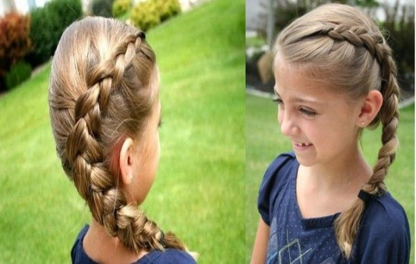 Dutch Braid Girly Hairstyles Long Hair Hairstyles for - Girl Hairstyles Braids