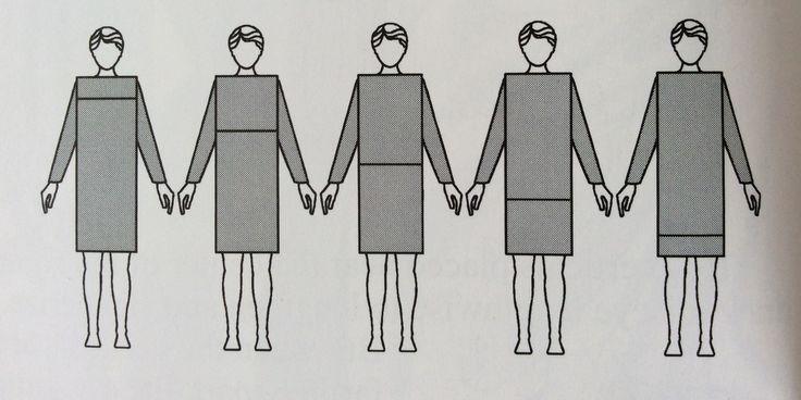 efeitos diferentes de linhas horizontais (e proporções)