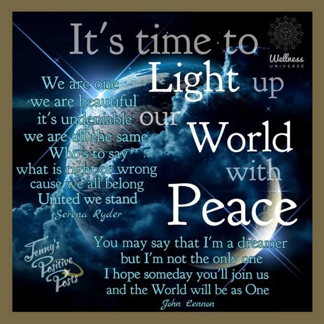 Quotes About World Peace Day: 17 Best World Peace Quotes On Pinterest
