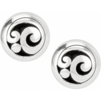 Brighton Contempo Post Earrings in Silver