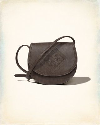 Embossed Crossbody Purse