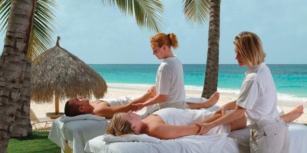 Divi Aruba All Inclusive - Couples Massage on the beach!