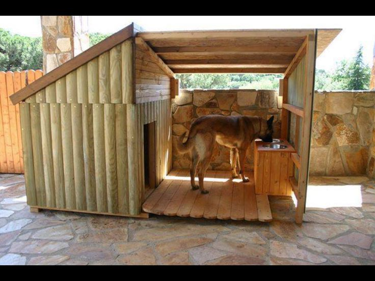 Found this dog kennel on fb how cool what a great idea for Amazing dog kennels