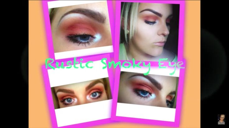 Rustic smoky eye. Check out my YouTube channel. Link in bio x