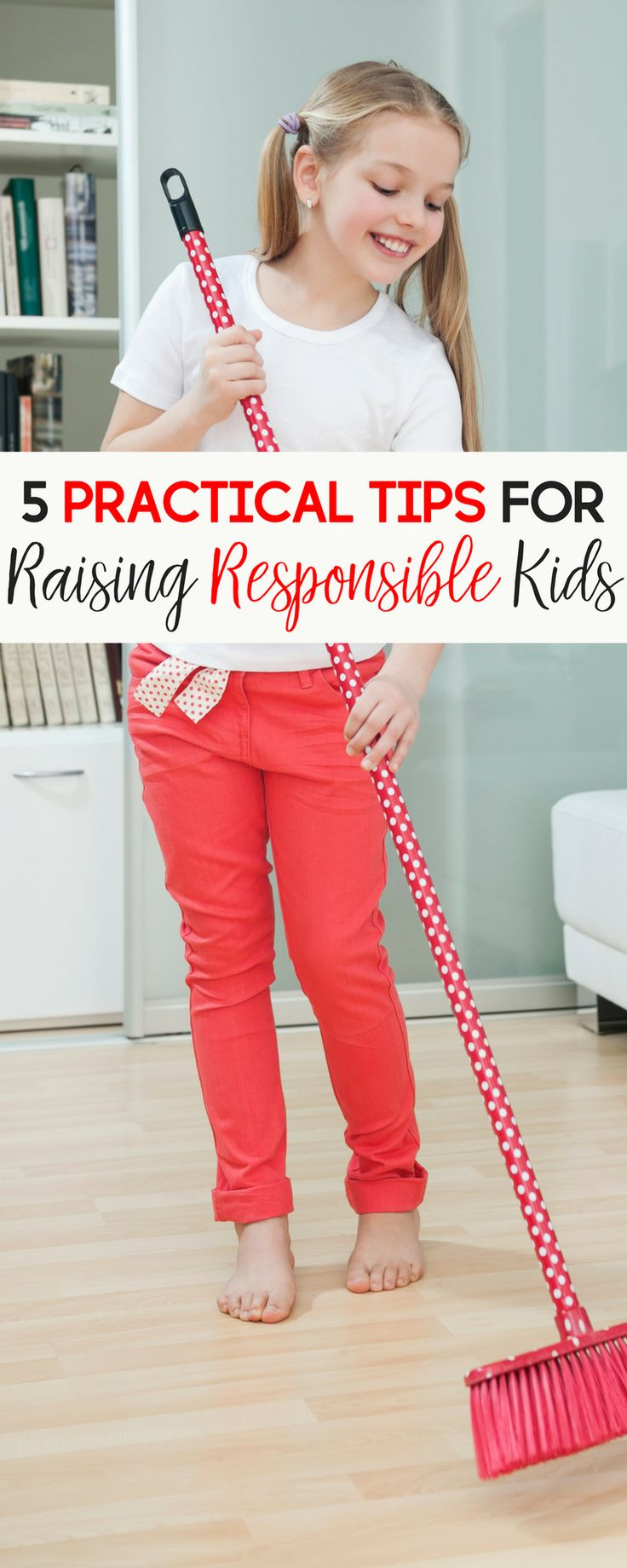 Raising responsible kids means they will eventually become a responsible adult, right? Here are 5 practical tips for raising a child who is responsible. | responsible kids | raising kids | raising children | raising responsible kids | raising kids with characters | raising children who are responsible | practical parenting tips