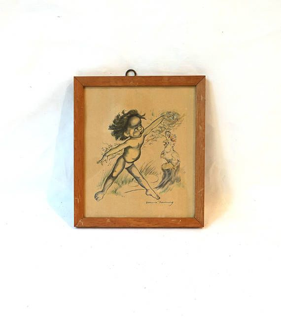 Vintage rare collectable 1950s Aboriginal Australian childrens