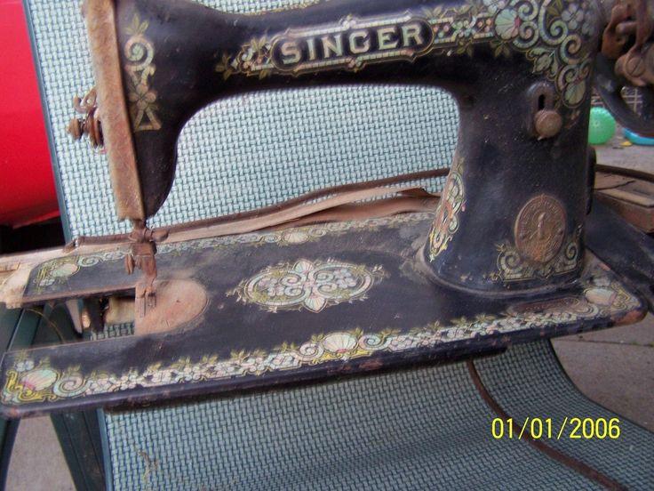 Singer Vintage Sewing Machine | eBay