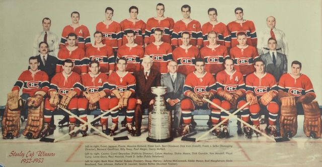 1953 Montreal Canadiens - Stanley Cup Champions