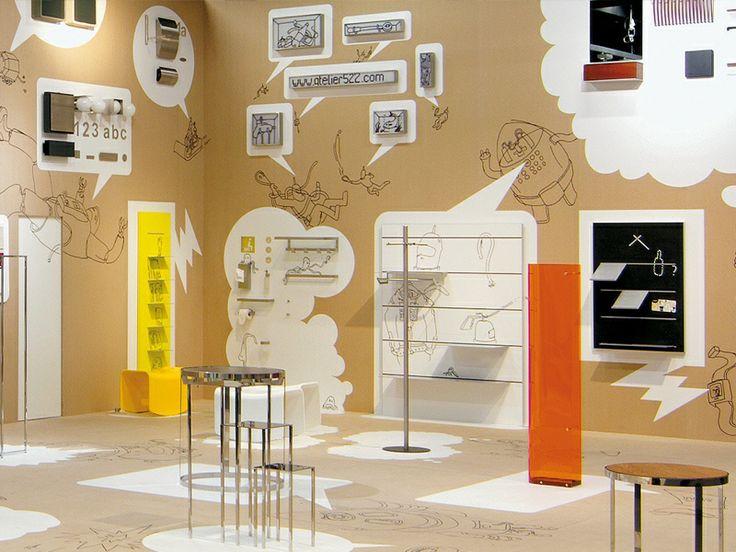 Serafini Booth- atelier522 | Projekte