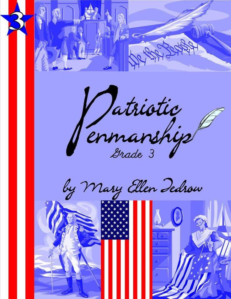 Patriotic Penmanship {Laurelwood Books Review}