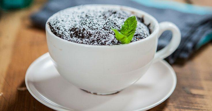 Expresní brownie z mikrovlnky za 5 minut | Čarujeme