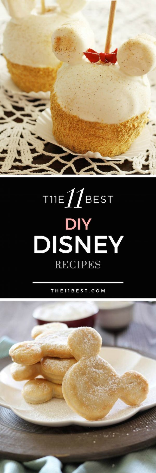 DIY Disney Recipe Ideas