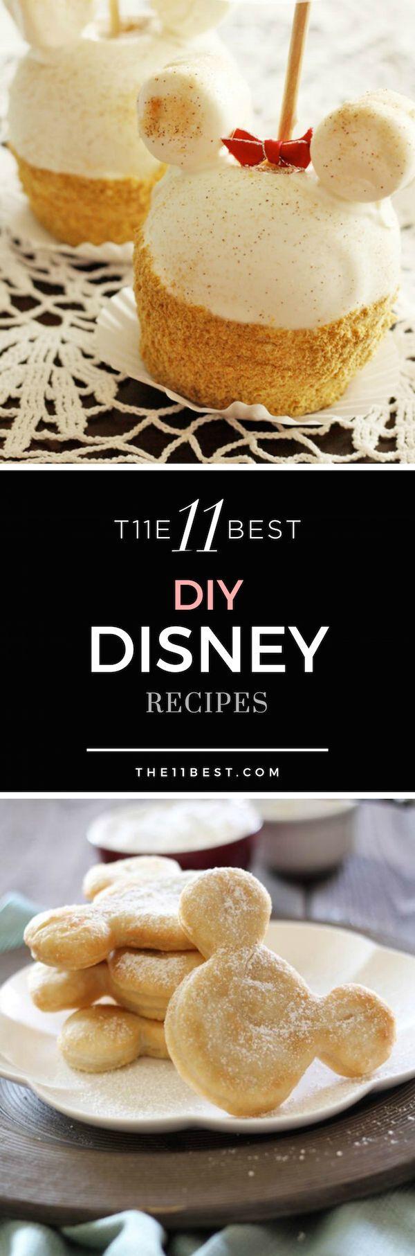 DIY Disney Recipe Ideas