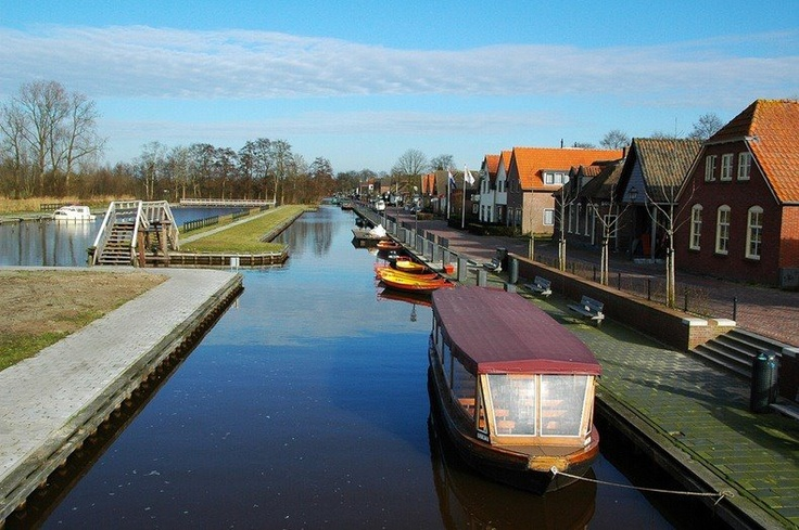 Giethoorn in the Netherlands has no roads, and the only access is by water over the many beautiful canals or on foot over its wooden arch bridges.