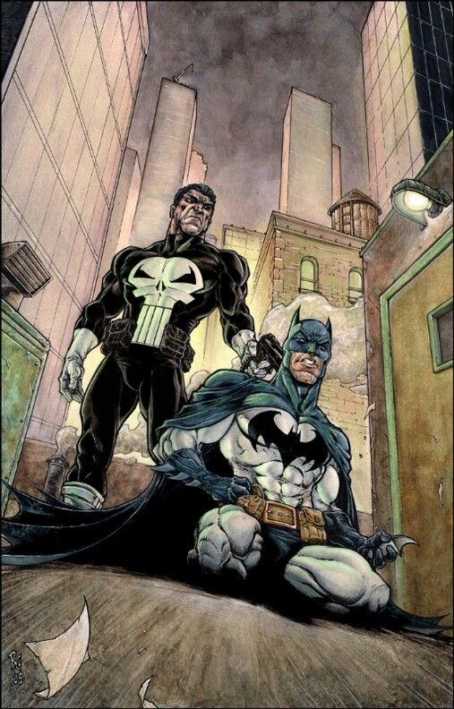 Batman vs Punisher--Punisher is in a world of trouble