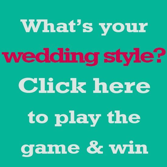What's YOUR Wedding Style? Play the game to find out and Win a $500 Video Package!