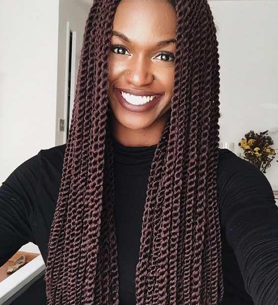 Best 25 crochet senegalese twist ideas on pinterest senegalese twist crochet hair senegalese - Crochet braid tresse ...