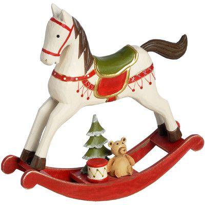 ۞۩ Hill Interiors Rocking Horse Christmas Decoration | Wayfair UK | ۞۩ The  Spirit Of Christmas..۩ ۞ | Pinterest | Christmas, Christmas decorations and  ... - ۞۩ Hill Interiors Rocking Horse Christmas Decoration Wayfair UK