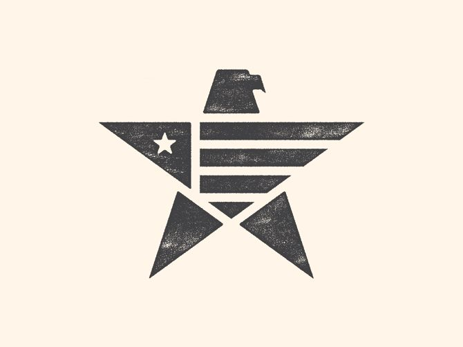 Loving this symbol for Greatland - made in USA