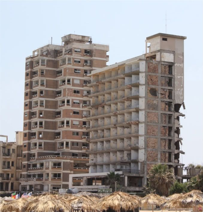 Varosha, Famagusta, Northern Cyprus - June 2010 - Derelict Places