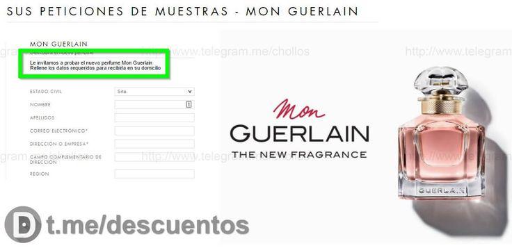 Muestras perfume Mon Guerlain GRATIS - http://ift.tt/2mLmZiL