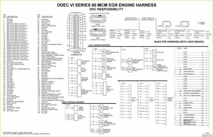 14 Ddec 4 Ecm Wiring Diagram Car Cable And Detroit Diesel