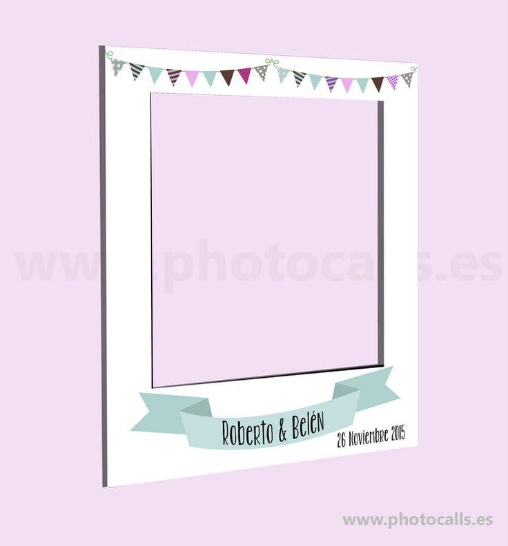 Photocall Marco para cualquier evento. Medidas 1,20x1metro #photocallpolaroid #photobooth #photocall