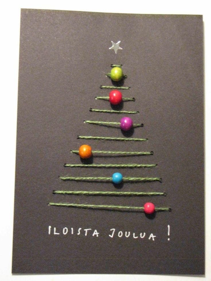 sticken garn weihnachtsbaum perlen einfädeln ornamente #weihnachtsdeko #ideen #… – alles-fuer-selbermacher – nähen ist wie zaubern können ! DIY