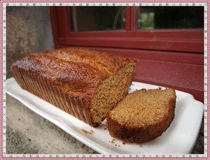 Cake au miel et aux épices