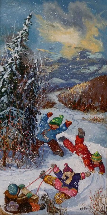 Dans la neige folle, Pauline Paquin
