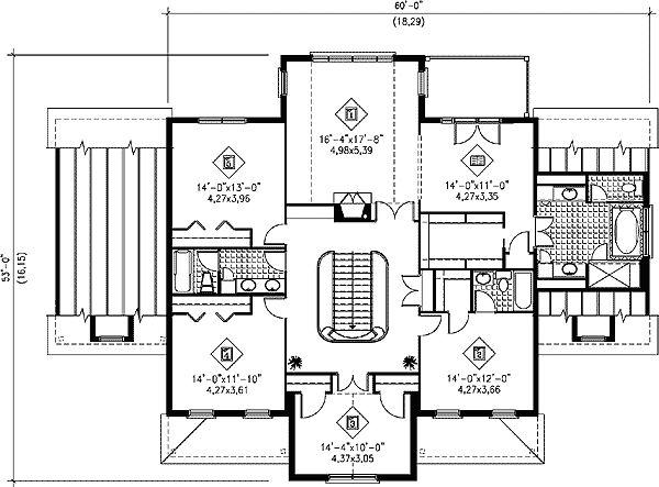 Elegant Plan 80426PM: Grand Staircase