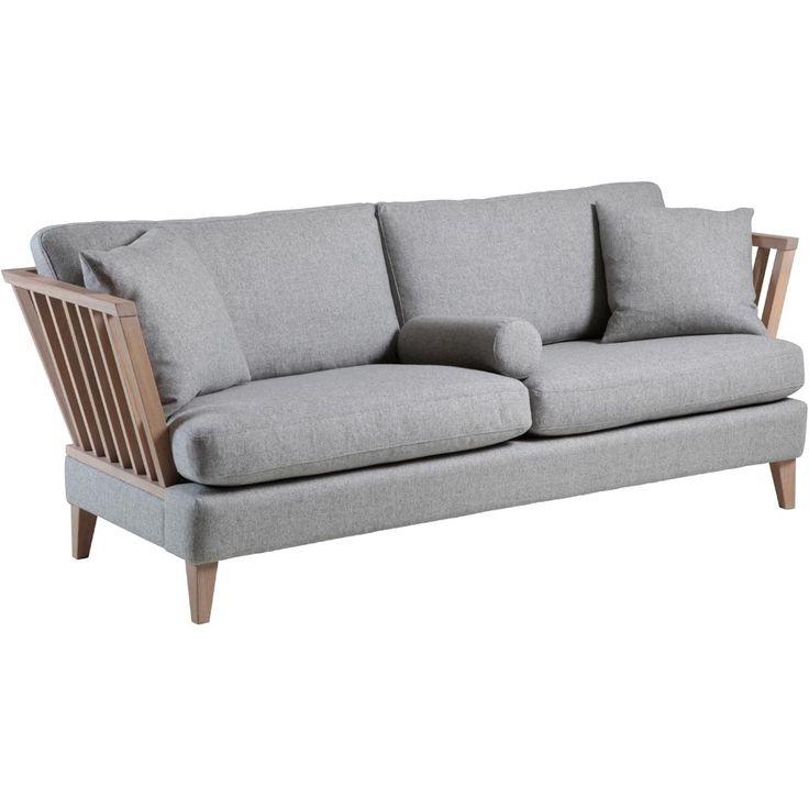 Särö soffa – tyg fårö 14 ljusgrå