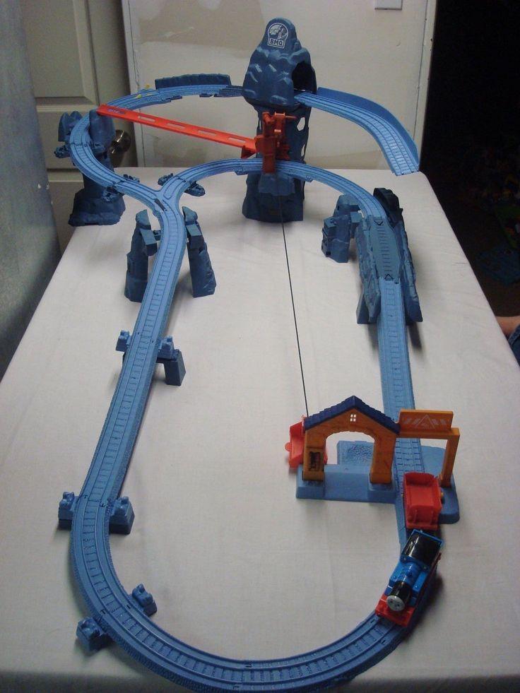 Thomas and Friends Trackmaster Risky Rails Bridge Drop with Train | eBay
