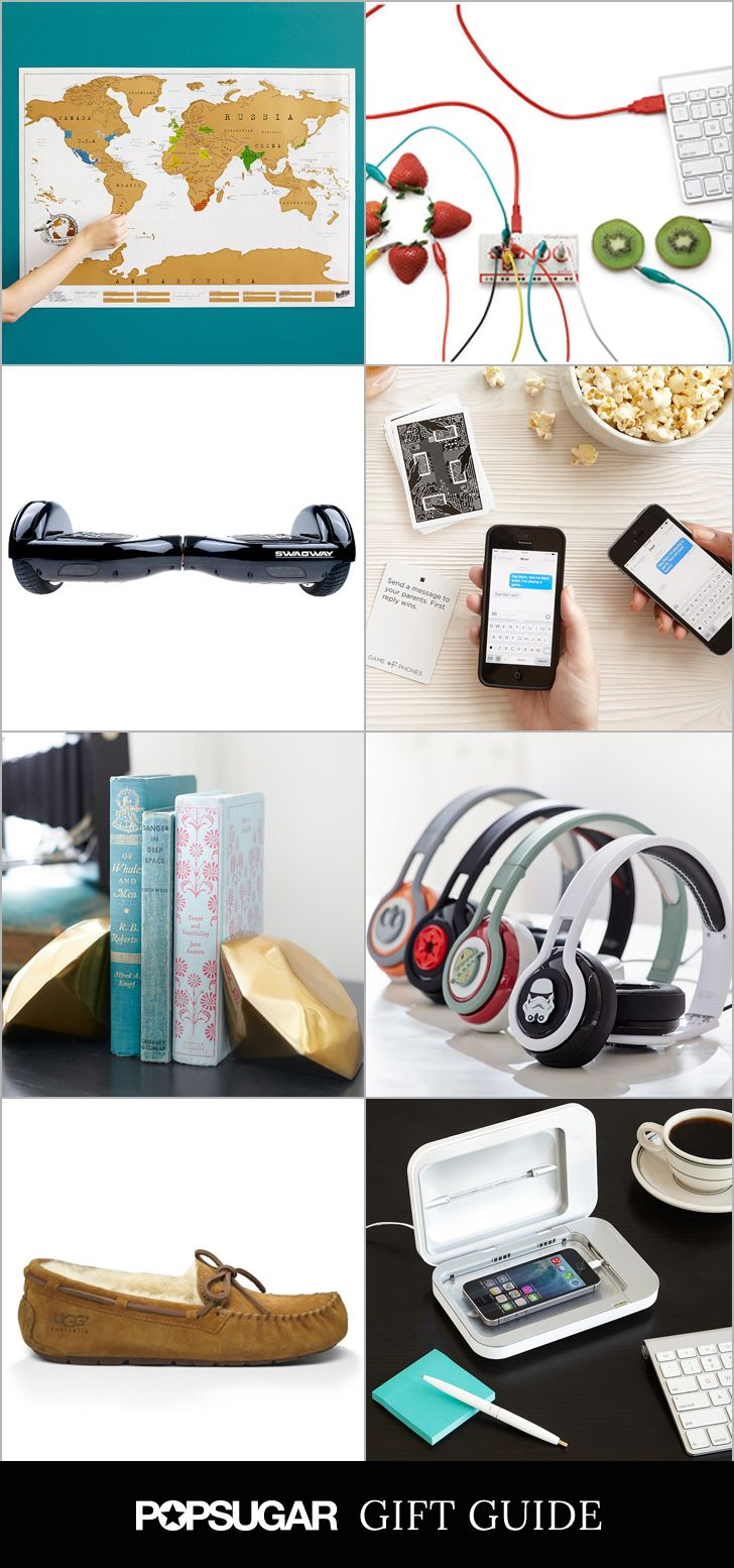 From iPhone accessories to must-have fashion pieces, these presents will please even the pickiest teens.