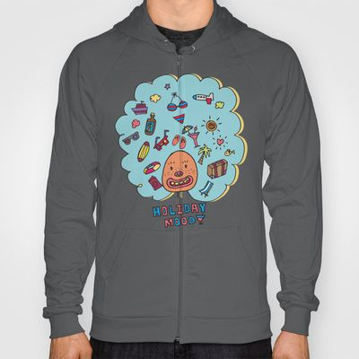 Holiday Mood!  Hoody by PINT GRAPHICS - $38.00