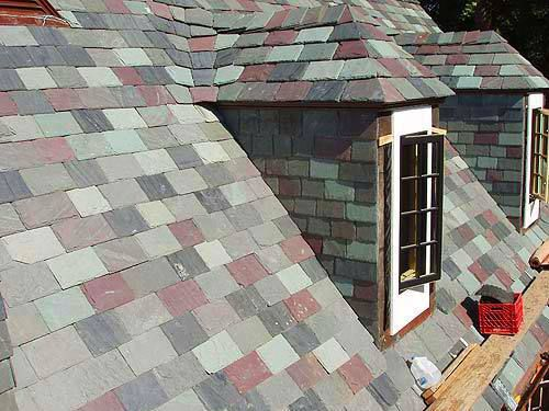 Slate Roofs Are Easy To Maintain And The Cost Of Maintenance Is Very Less.  Visit