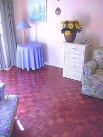 Mopane exotic floor. Original colour at time of installation