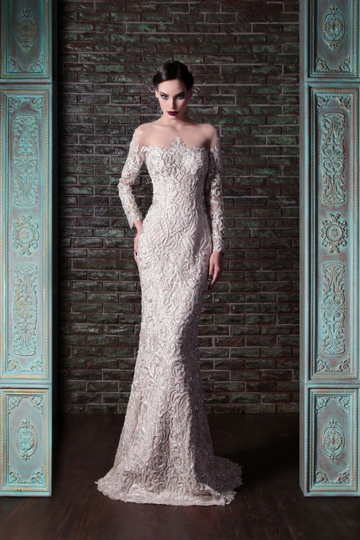 Hand Embroidered Couture Dress